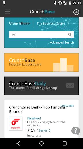 CrunchBase Viewer
