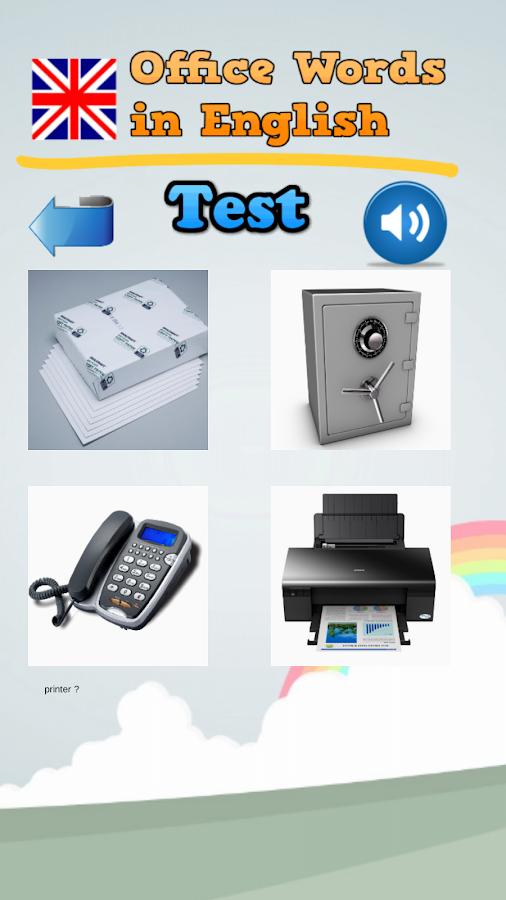 Palabras de oficinas en ingl s aplicaciones android en for Oficina en ingles