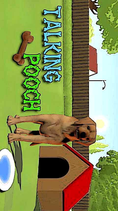 Talking Pooch the Dog for Kids - screenshot