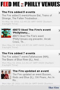 FEED ME :: Philly Music Venues - screenshot thumbnail