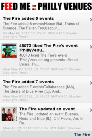 FEED ME :: Philly Music Venues - screenshot