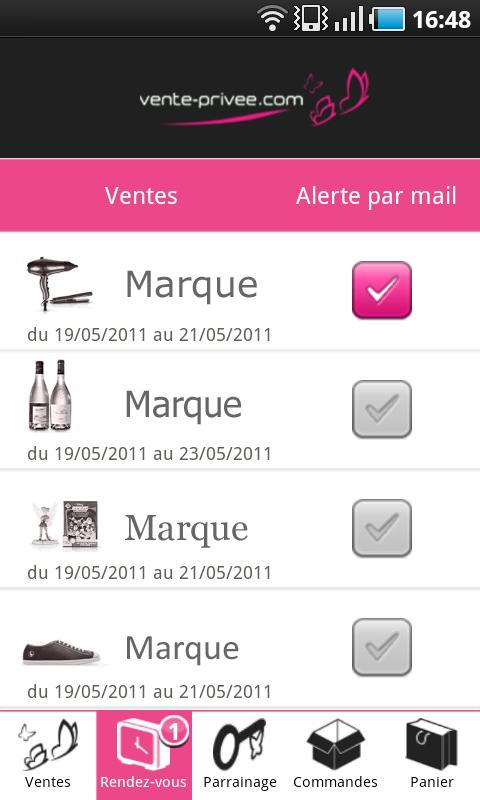 vente-privee.com - screenshot