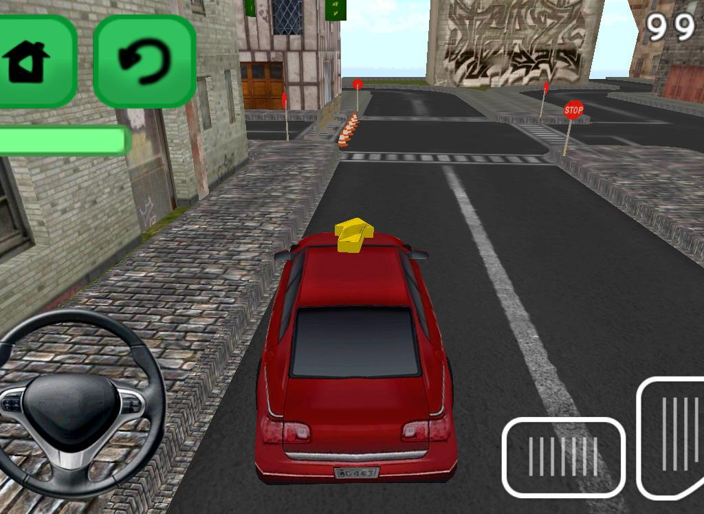 Mad Rush Speed Car Parking 3D - screenshot