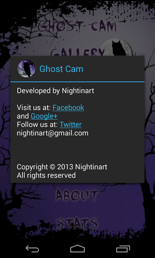 Ghost Cam - screenshot