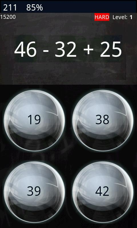 Math Workout - Game (free)- screenshot