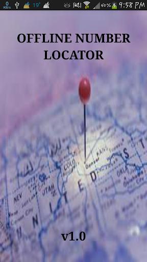 OFFLINE NUMBER LOCATOR -Aarthi