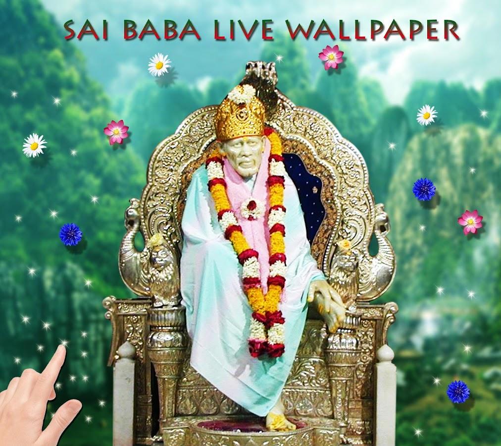 Wallpaper download karne ka app - Sai Baba Live Wallpaper Screenshot