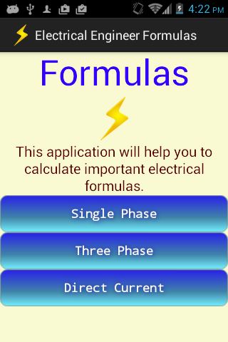 Electrical Engineer Formulas