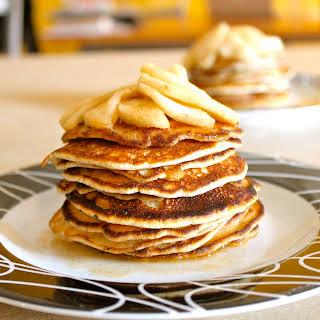 Buttery Cinnamon Apple Pancake (for Steve).