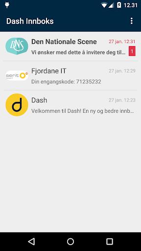 Dash Inbox