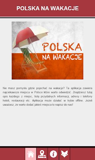 Polska na wakacje