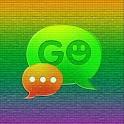 GO SMS Theme Color Pixel logo