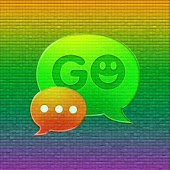 GO SMS Theme Color Pixel