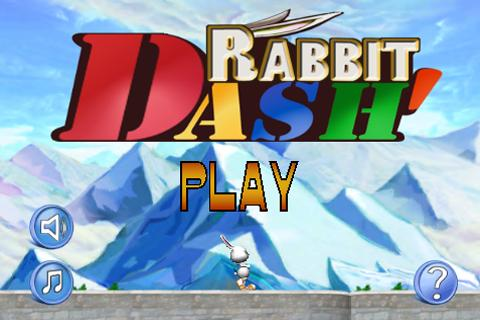Rabbit Dash- screenshot