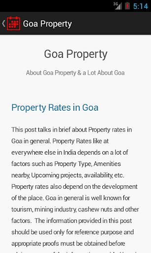 Goa Property