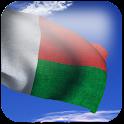 3D Madagascar Flag + icon