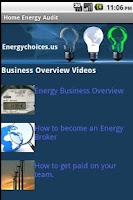 Screenshot of Home Energy Audit