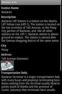 MRT-LRT Train Station Guide- screenshot thumbnail