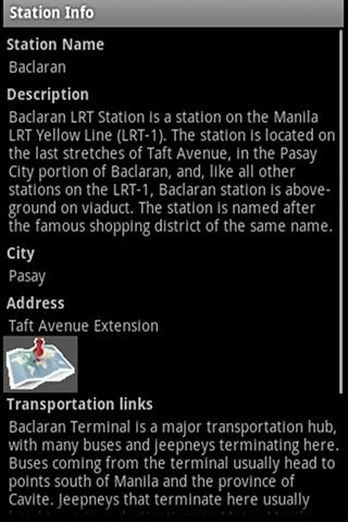 MRT-LRT Train Station Guide- screenshot
