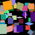 Falling Squares Live Wallpaper logo
