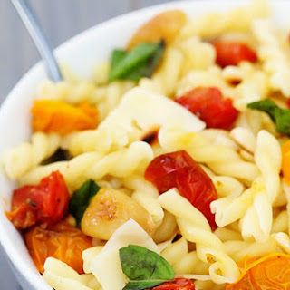 Pasta with Slow-Roasted Tomatoes, Garlic & Parmesan