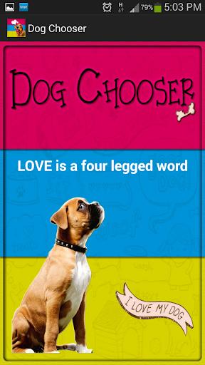 Dog Breed Chooser