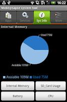 Screenshot of Mobisynapse system tool