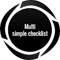 Multi Simple Checklist free icon