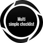 Multi Simple Checklist free