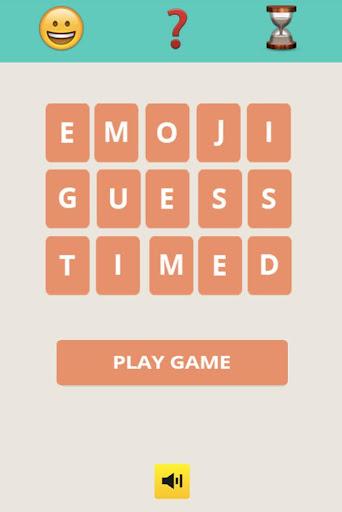 Emoji Guess Timed