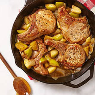 Pork Chops with Apples.