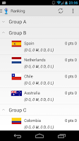 Screenshot of Pro App for World Cup 2014