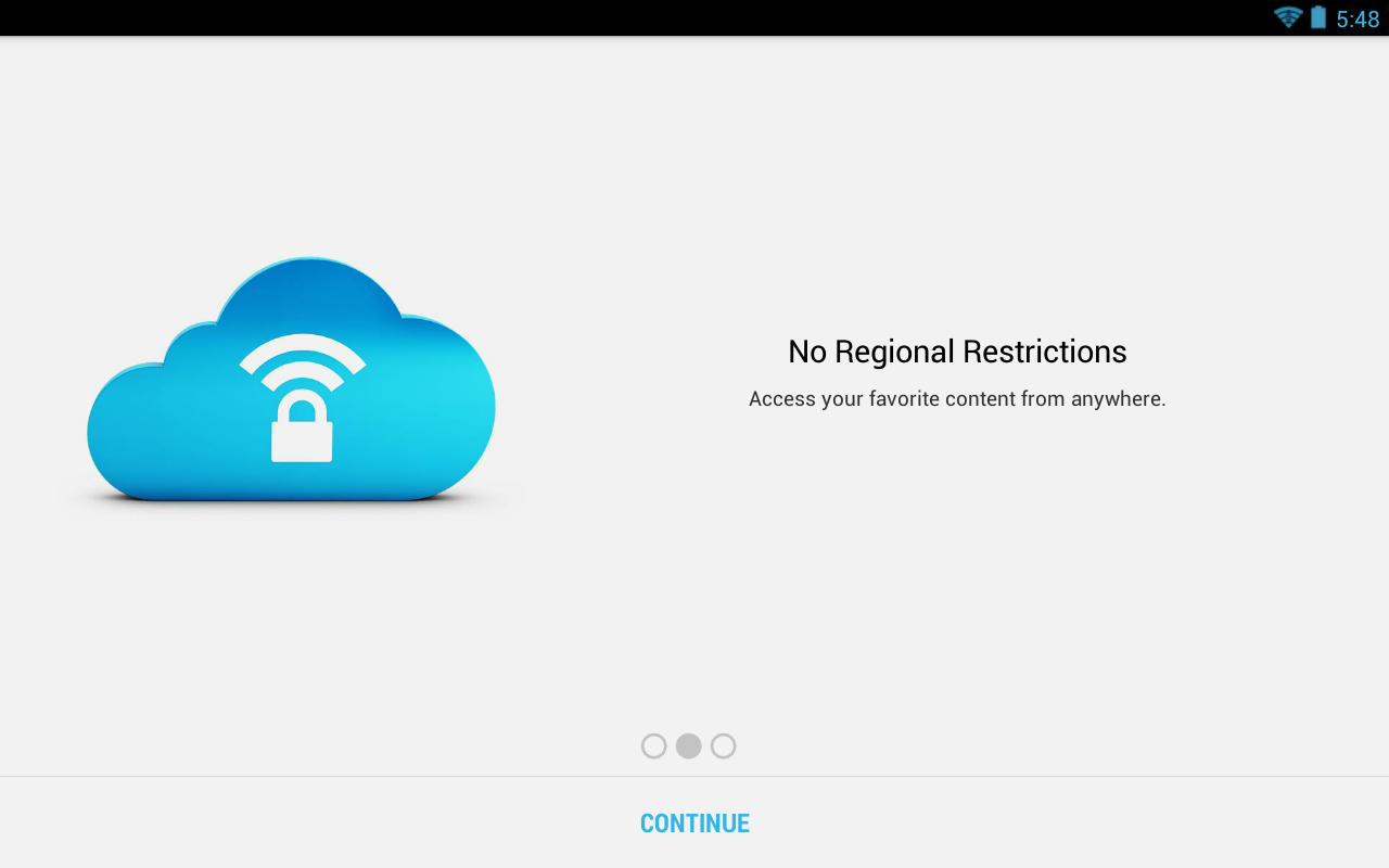 SecureLine VPN - screenshot
