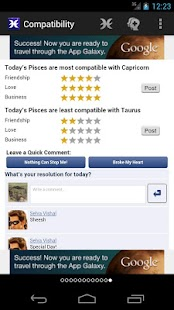 Horoscopes for Facebook - screenshot thumbnail
