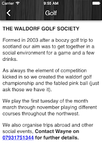 The Waldorf Pub- screenshot thumbnail