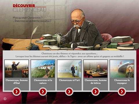 Du00e9couvrir Clemenceau, Le Quiz 1.0 screenshots 1