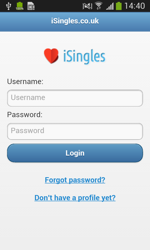 iSingles - UK Online Dating- screenshot