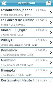 Ouestmap annuaire entreprise - screenshot thumbnail