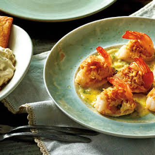 Stuffed Shrimp with Scampi Sauce and Toffee-Apple Dip.