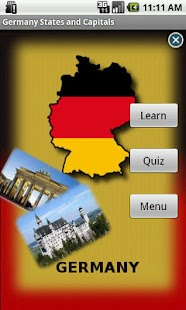 Germany States and Capitals- screenshot thumbnail