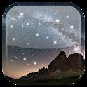 Ночь звезд живые обои icon