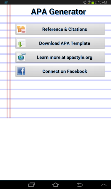 free apa format generator download