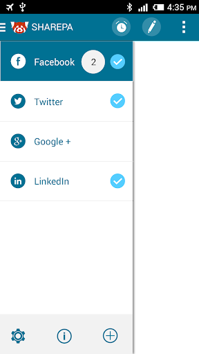 SharePa - social media manager