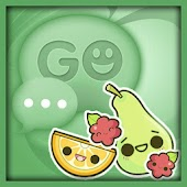 Kawaii Fruits Go SMS Theme