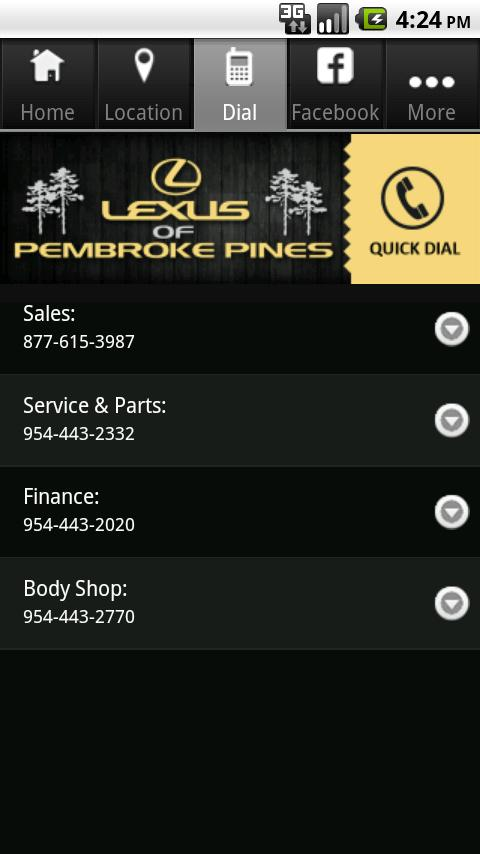 Lexus of Pembroke Pines - screenshot