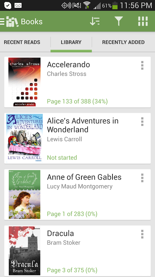 Aldiko Book Reader - screenshot