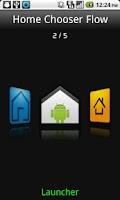Screenshot of Home Chooser Flow