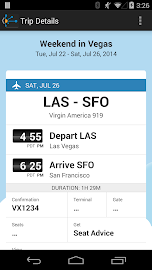 TripIt: Trip Planner Screenshot 4