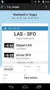 TripIt: Trip Planner v4.5.0 (Pro)