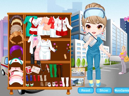 【免費休閒App】游戏的女孩护士-APP點子